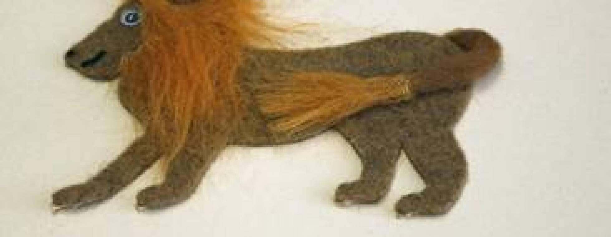Taktile Kinderbücher - Der Löwe der nicht schreiben kann
