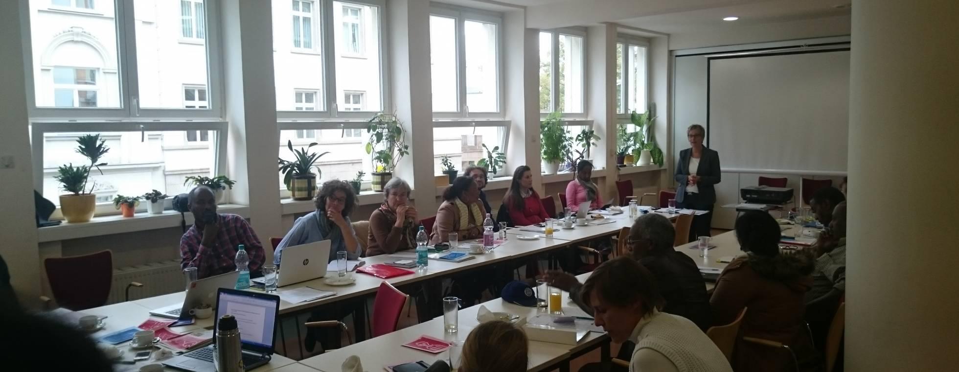 Workshoptreffen in der DZB