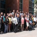 Gruppenfoto mit den deutschen und äthiopischen Teilnehmern