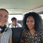 Nora Gohlke mit äthiopischen Kollegin