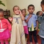 Kinder bei der NGO TOGETHER In Addis Abeba