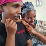 Blinde Frauen in Addis Abeba